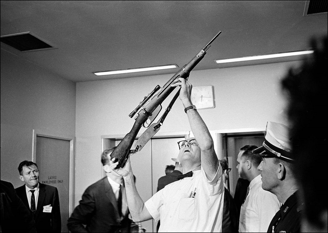 Lee Harvey Oswald purchased a 6.5 mm Italian carbine