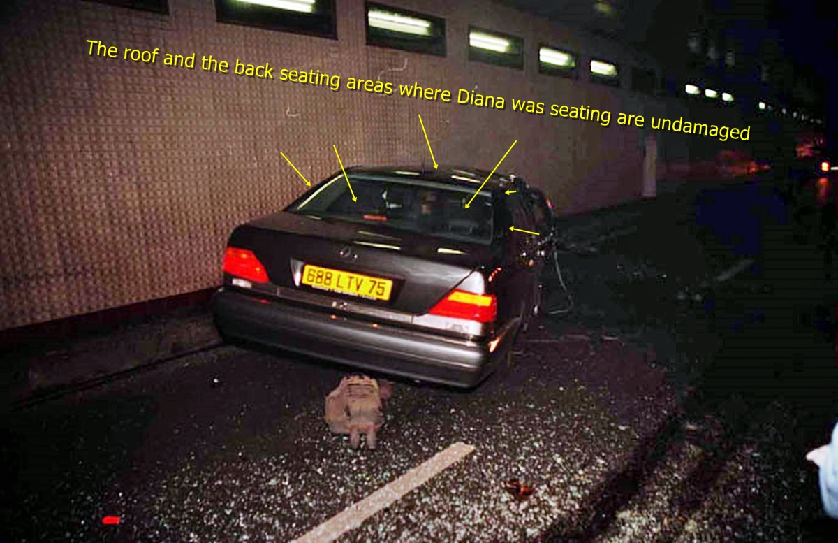 Diana Dead In Car Crash